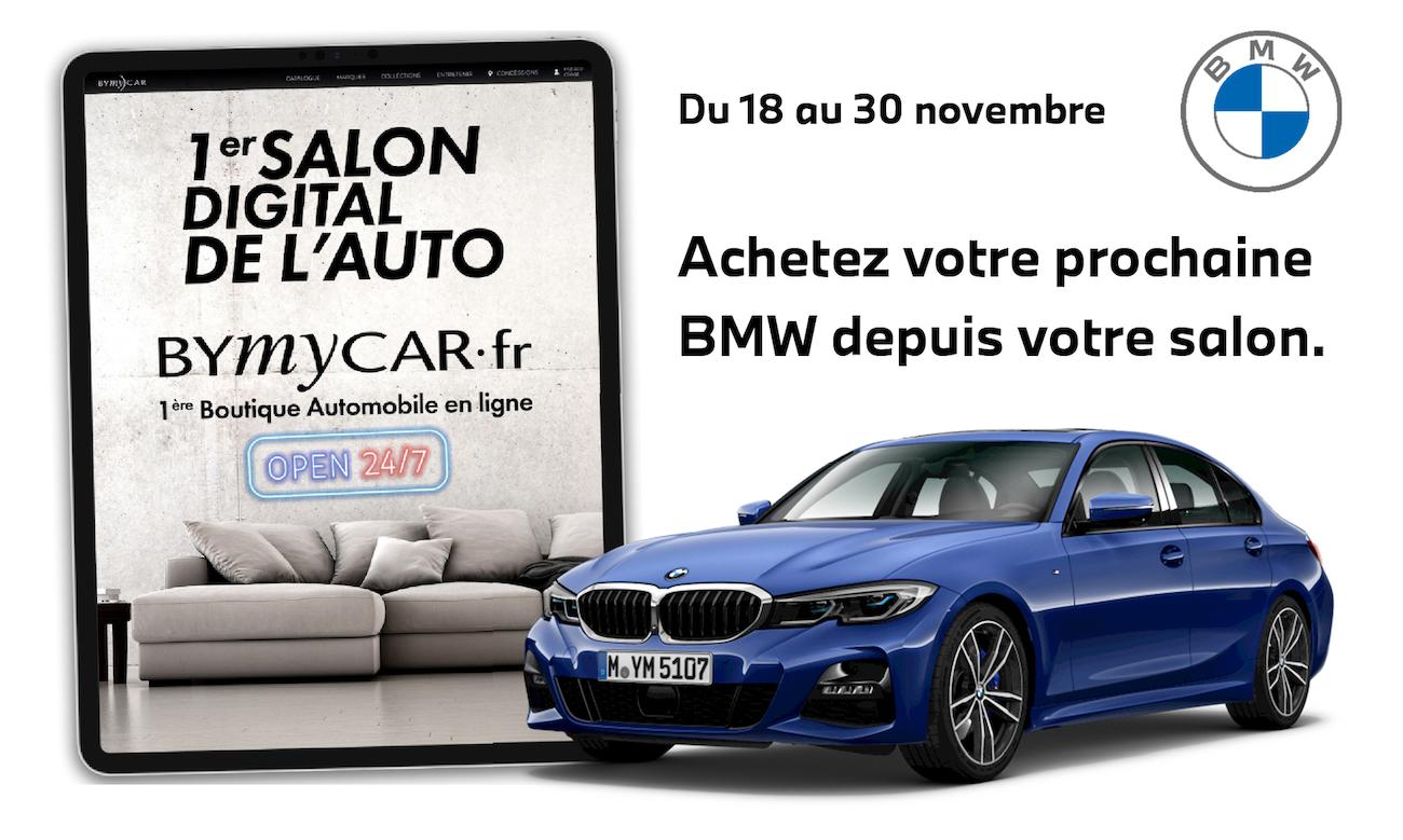 1ER SALON DIGITAL DE L'AUTO BMW BYMYCAR.FR