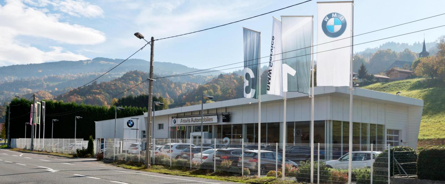 Concession BMW ARAVIS AUTOMOBILES SALLANCHES
